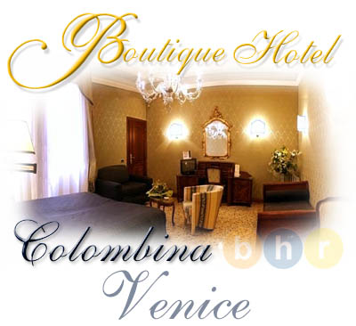 Hotels in venice boutique hotel colombina for Design boutique hotel venice